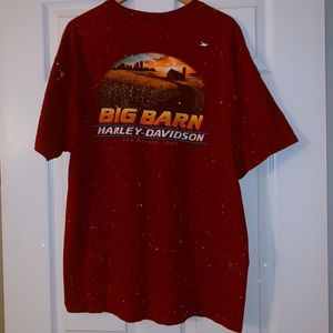 Harley Davidson T-Shirt Iowa